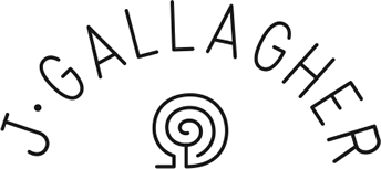 Gallagher Flutes Retina Logo